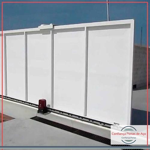 Conserto mola porta de aço