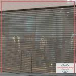 Porta de aço automática transvision