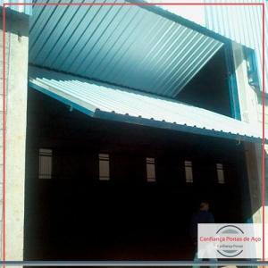 Fabrica de portas de aço